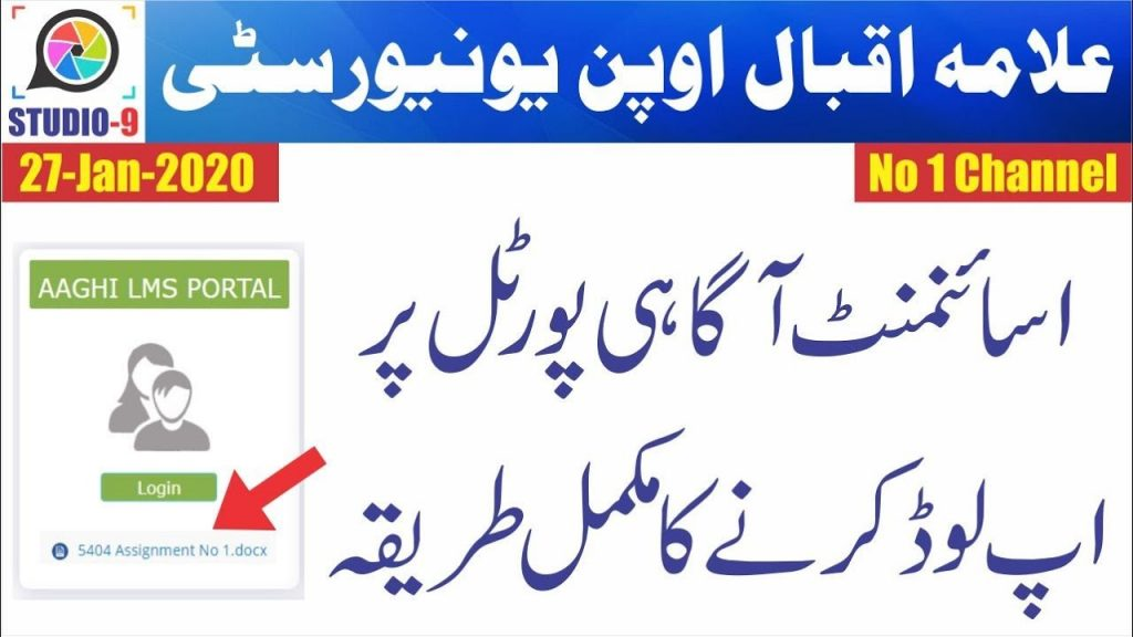 submit AIOU assignments